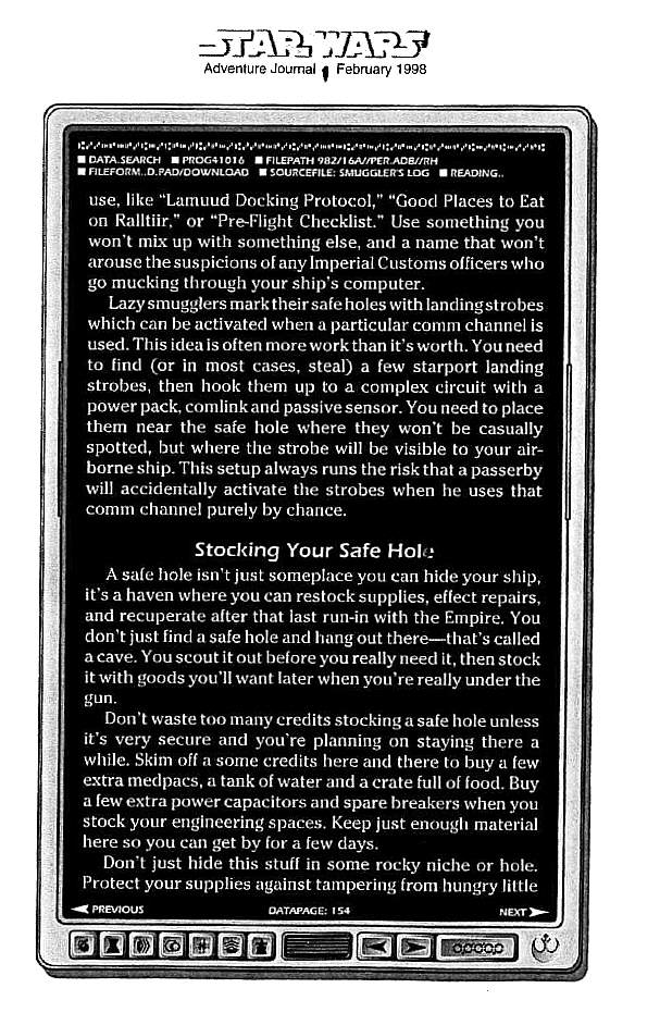 star wars adventure journal pdf